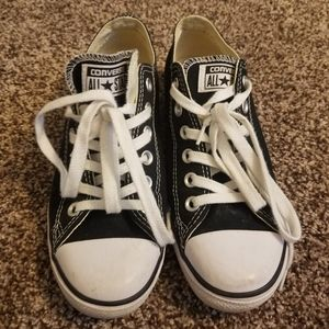 Converse All Star Low Top Black Sneakers